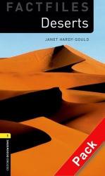 BKWM 3rd Edition 1: Deserts Factfile with Audio CD (книга та аудіодиск) - фото обкладинки книги