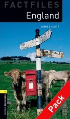 BKWM 3rd Edition 1: England Factfile with Audio CD (книга та аудіодиск) - фото книги