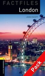 BKWM 3rd Edition 1: London Factfile with Audio CD (книга та аудiодиск) - фото обкладинки книги