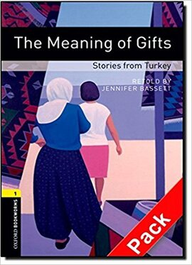 BKWM 3rd Edition 1: Meaning of Gifts - Stories from Turkey with Audio (книга та аудiодиск) - фото книги