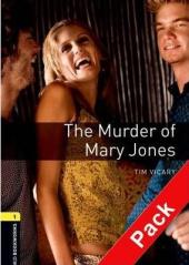 BKWM 3rd Edition 1: Murder of Mary Jones with Audio CD (книга та аудiодиск) - фото обкладинки книги