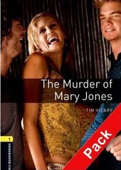 BKWM 3rd Edition 1: Murder of Mary Jones with Audio CD (книга та аудiодиск) - фото обкладинки книги