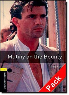 BKWM 3rd Edition 1: Mutiny on the Bounty with Audio CD (книга та аудiодиск) - фото книги
