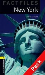 BKWM 3rd Edition 1: New York Factfile with Audio CD(книга та аудiодиск) - фото обкладинки книги