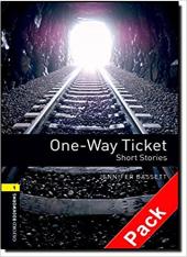 BKWM 3rd Edition 1: One-way Ticket - Short Stories with Audio CD (книга та аудiодиск) - фото обкладинки книги