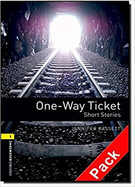 BKWM 3rd Edition 1: One-way Ticket - Short Stories with Audio CD (книга та аудiодиск) - фото книги