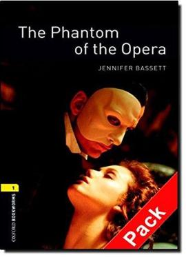 BKWM 3rd Edition 1: Phantom of the Opera with Audio CD (книга та аудiодиск) - фото книги