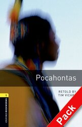 BKWM 3rd Edition 1: Pocahontas with Audio CD(книга та аудiодиск) - фото обкладинки книги