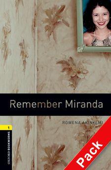 BKWM 3rd Edition 1: Remember Miranda with Audio CD (книга та аудiодиск) - фото книги