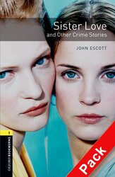 BKWM 3rd Edition 1: Sister Love and other Crime Stories with Audio CD(книга та аудiодиск) - фото обкладинки книги