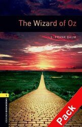 BKWM 3rd Edition 1: Wizard of Oz with Audio CD(книга та аудiодиск) - фото обкладинки книги