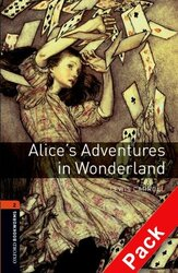 BKWM 3rd Edition 2: Alice's Adventures in Wonderland with Audio CD (книга та аудiодиск) - фото обкладинки книги