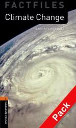 BKWM 3rd Edition 2: Climate Change Factfile with Audio CD (книга та аудiо) - фото обкладинки книги
