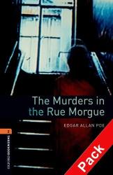 BKWM 3rd Edition 2: Murders in the Rue Morgue with Audio CD (книга та аудiо) - фото обкладинки книги