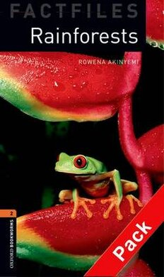 BKWM 3rd Edition 2: Rainforests Factfile with Audio CD (книга та аудiо) - фото книги