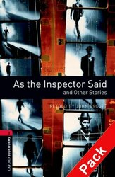 BKWM 3rd Edition 3: As the Inspector Said and other Stories with Audio CD (книга та аудiо) - фото обкладинки книги