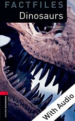 BKWM 3rd Edition 3: Dinosaurs Factfile with Audio CD (книга та аудіо) - фото обкладинки книги