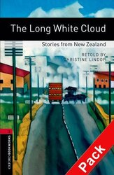 BKWM 3rd Edition 3: Long White Cloud - Stories from New Zealand with Audio CD - фото обкладинки книги