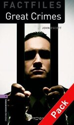 BKWM 3rd Edition 4: Great Crimes Factfile with Audio CD (книга та аудiо) - фото обкладинки книги