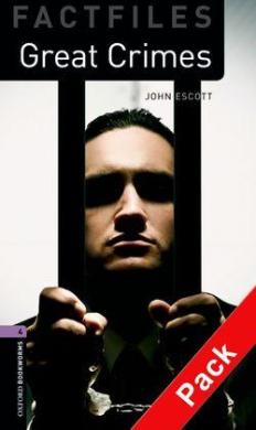 BKWM 3rd Edition 4: Great Crimes Factfile with Audio CD (книга та аудiо) - фото книги