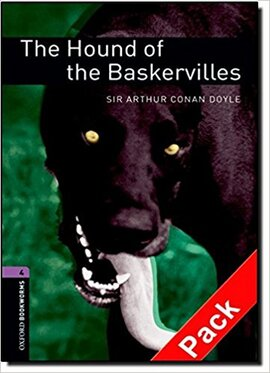 BKWM 3rd Edition 4: Hound of the Baskervilles with Audio CD (книга та аудiо) - фото книги