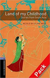 BKWM 3rd Edition 4: Land of My Childhood - Stories from South Asia with Audio CD (книга та аудiо) - фото обкладинки книги