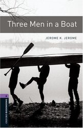 BKWM 3rd Edition 4: Three Men in a Boat with Audio CD - фото обкладинки книги