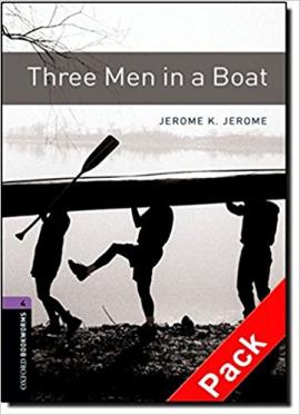 BKWM 3rd Edition 4: Three Men in a Boat with Audio CD (книга та аудiо) - фото книги