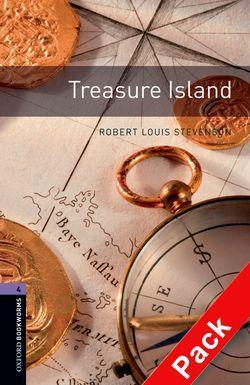BKWM 3rd Edition 4: Treasure Island with Audio CD (книга  та аудiо) - фото книги