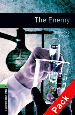 BKWM 3rd Edition 6: Enemy with Audio CD (книга та аудiо) - фото книги