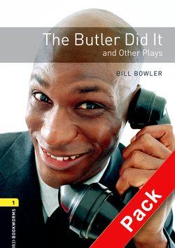 BKWM Playscripts 1: Butler Did it and other Plays with Audio CD (книга та аудiо) - фото книги