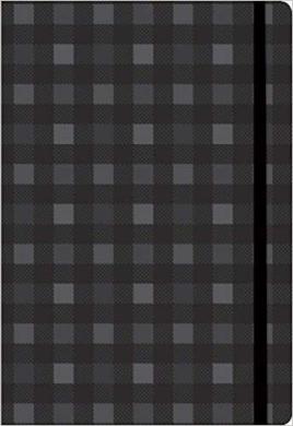 Black Plaid Essential Everyday Journal - фото книги