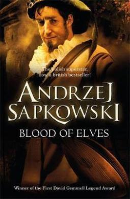 Blood of Elves - фото книги