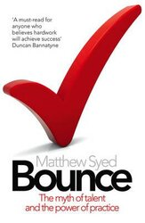 Bounce. The Myth of Talent and the Power of Practice - фото обкладинки книги
