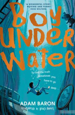 Boy Underwater - фото книги