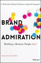 Brand Admiration : Building A Business People Love - фото обкладинки книги