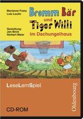Bromm Br und Tiger Willi im Dschungelhaus. Leseschule Fibel. Lernspiel. CD-ROM (інтерактивний комп'ютерний диск) - фото обкладинки книги