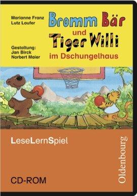 Bromm Br und Tiger Willi im Dschungelhaus. Leseschule Fibel. Lernspiel. CD-ROM (інтерактивний комп'ютерний диск) - фото книги