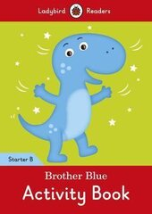 Brother Blue Activity Book - Ladybird Readers Starter Level B - фото обкладинки книги