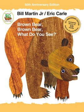 Brown Bear, Brown Bear, What Do You See? - фото книги