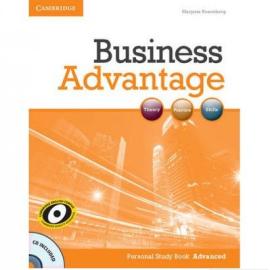 Business Advantage Advanced Personal Study Book with Audio CD(робочий зошит+аудіодиск) - фото книги
