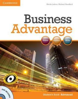 Business Advantage Advanced Student's Book with DVD(підручник+аудіодиск) - фото книги