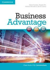 Business Advantage Intermediate Audio CDs (2) - фото обкладинки книги
