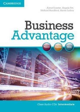Business Advantage Intermediate Audio CDs (2) - фото книги
