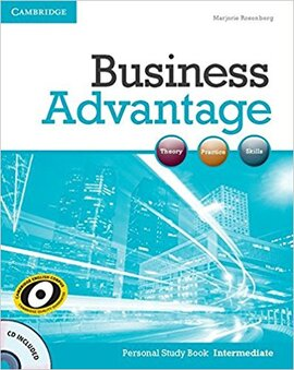 Business Advantage Intermediate Personal Study Book+CD (робочий зошит+аудіодиск) - фото книги