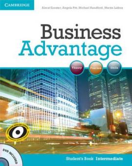 Business Advantage Intermediate Student's Book with DVD (підручник+аудіодиск) - фото книги