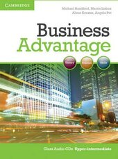 Business Advantage Upper-intermediate Audio CDs (2) - фото обкладинки книги