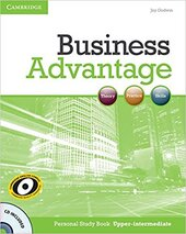 Business Advantage Upper-intermediate Personal Study Book+СD (робочий зошит+аудіодиск) - фото обкладинки книги