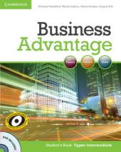 Business Advantage Upper-intermediate Student's Book+DVD (робочий зошит+аудіодиск) - фото обкладинки книги