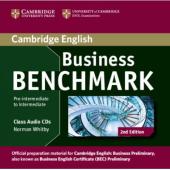 Business Benchmark 2nd Pre-Intermediate/Intermediate Audio CD (аудіодиск) - фото обкладинки книги